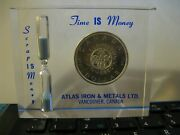 Atlas Iron And Metal Ltd Silver Dollar Scrape Is Money Paper Weight Vancouver Bc