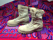 Usa Wellco Desert Military Combat Brown Leather Boots 6m