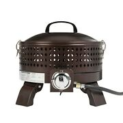 Propane Firepit Patio Heater Outdoor Propane Gas Table Firebowl Space Heater New