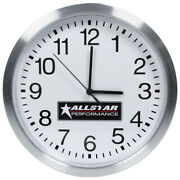 Allstar Performance All99968 Wall Clock 12 Diameter For Battery Operated