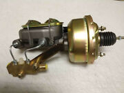 7 Power Brake Booster 1-1/8 Bore Master Cylinder And Disc Proportioning Valve