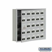 Cell Phone Storage Locker - With Front Access Panel - 5 Door High Unit 5 Inch D