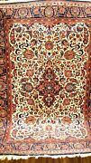 Antique 1930 Estate Find Full Pile Amazing Small Rug , Very Fine .