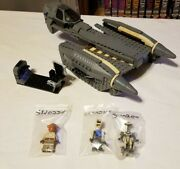 Lego Star Wars General Grievous Starfighter 8095 Complete With Figures