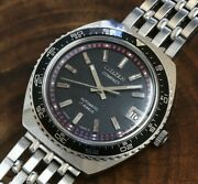 Citizen Compact 2808-y Divers Type Automatic Winding Vintage Watch 1968and039s