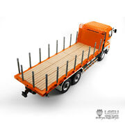 Lesu 1/14 Hino Rc 64 Flatbed Lorry Trailer Car Metal Chassis Tractor Truck Diy