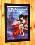 Inuyasha The Movie 2 The Castle Beyond The Loo Anime Manga Old Poster Ad Framed