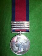 Military General Service Medal 1793-1814 4 To 18th Hussars Kilkenny Ireland
