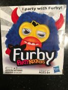 Dark Blue Furby Party Rockers Scoffby New Missing Top String