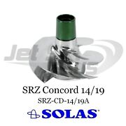 Solas Concord Srz Series Seadoo Rxp Rxt Gtx 215 Hp 2009-up Impeller 14-19 Pitch