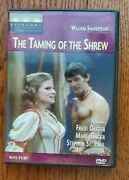 William Shakespeare The Taming Of The Shrew Dvd Fredi Olster Broadway Theatre