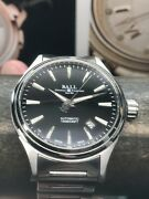 Ball Fireman Victory Black Dial Swiss Automatic 40mm Stainless Steel Bracelet