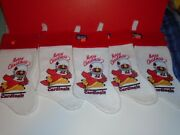 Lot Of 5 Vintage St. Louis Cardinals Nfl 1983 Christmas Stockings New
