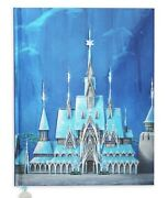 New Disney Store Arendelle Frozen Castle Collection Journal With Poster