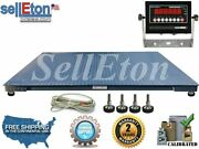Op-916-5and039 X 8and039 60 X 96 Industrial Heavy Duty Floor Scale 2500 Lbs X .5 Lb