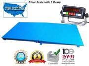 Industrial Floor 72 X 48 6' X 4' Scale With A Ramp L 1000 Lbs X .2 Lb