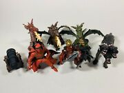 Papo Toys 6 Figure Lot, Dragons, Knights, Cerberus, Cannon - Mastermind Toys