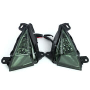 Led Front Turn Signal Light Indicator For Kawasaki Zx-14r/zz-r 1400/concours 14