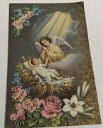 90 Vintage Antiques Prayer Holy Cards Pick Your Card Free Shipping Canada Usa