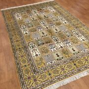 Yilong 6and039x9and039 Medium Hand Knotted Area Rugs Four Season Silk Classic Carpet W365c