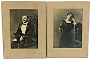 Cabinet Card Photos Ossining New York 1912 Mr And Mrs Branson Princeton Lot
