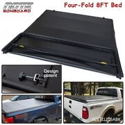 For 1999-2017 Ford F250/f350 Superduty 8ft Long Bed Four Fold Tonneau Cover