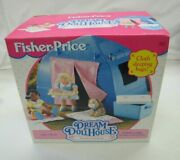 New Fisher Price Loving Family Dream Dollhouse Camping Tent Set 1994 Bags Dog