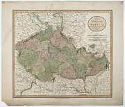 Czechoslovakia / New Map Of Bohemia And Moravia From The Latest Authorities