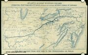 Atlantic And Great Western Railway...the Only Railway From New York 1864