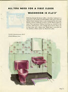 Mid-century Plumbing And Heating / First Quality Plumbing Fixtures 1957