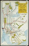 New York New York City / Subways Of New York East Side West Side All Around