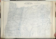 Oregon Highways 1930s / Map Of State Of Oregon Showing State Highway System