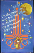 1980 Moscow Olympic Games / Happy New Year Bonne Annee 1979
