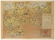 Germany World War Ii / Picture Map Of Germany Before War Published