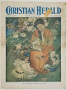 Books / Reading Color Print / Flowery Shades Of June The Christian Herald June