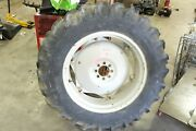 62 - 65 Early Ford 4000 Tractor 801 901 Rear Back Wheel Rim And Tire
