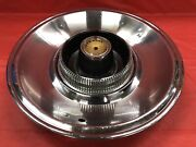 """Vintage 1965 Chrysler Imperial 15"""" Hubcap Good Condition"""