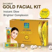 Astaberry Facial Kit Mini Gold 24 Cart Gold 112 Gm Instant Glow And Shine
