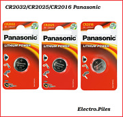 Button Cell / Cell Cr2032 Cr2025 Cr2016 Panasonic Free Shipping