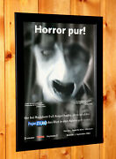 2002 Fatal Frame / Project Zero Ps2 Xbox Old Promo Poster / Ad Framed