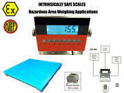 Op-906fs Ntep 4andprime X 4andprime 48 X 48 Certified Explosion Proof Safe Floor Scale