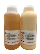 Davines Dede Delicate Daily Shampoo And Conditioner All Hair Types 33.8 Oz Set