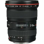 Canon Wide-angle Zoom Lens Ef17-40mm F4l Usm Full-size Corresponding
