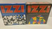 New Izzi 1 And 2 Brain Exerciser Puzzle Games To Drive You Dizzy Binary Arts Vtg