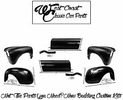 1952 Chevy Front Fenders Rear Fenders Bed Apron Rh Lh Kit +