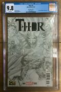 Thor 1 1300 Alex Ross Sketch Variant Jane Foster As Thor Cgc 9.8 1301586012