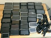 Lot Of 35 Gps Devices Garmin/tomtom/magellan As-is W/accessories