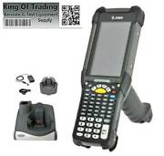 Zebra Mc9300 1d/2d Imager Barcode Scanner W/ Charging Cradle And Power Supply