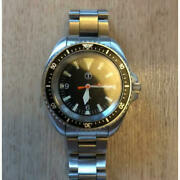 Rare British Army Black Dial Divers Watch