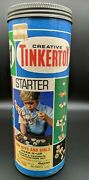 Vintage Tinkertoy No. 116 Starter Set 59 Of 60 Pieces Excellent Condition